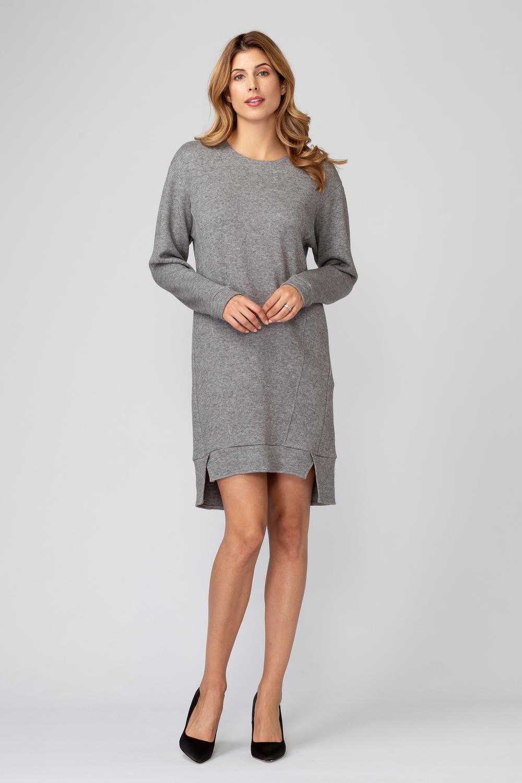 Joseph Ribkoff Grey Dresses Style 193471