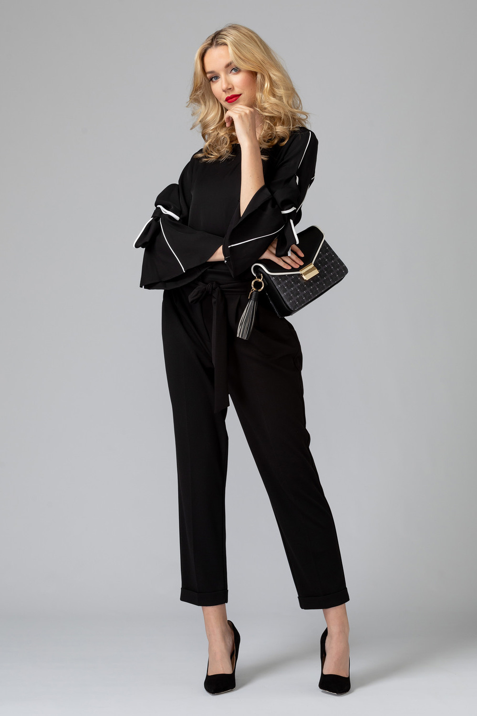 Joseph Ribkoff Black Pants Style 193486