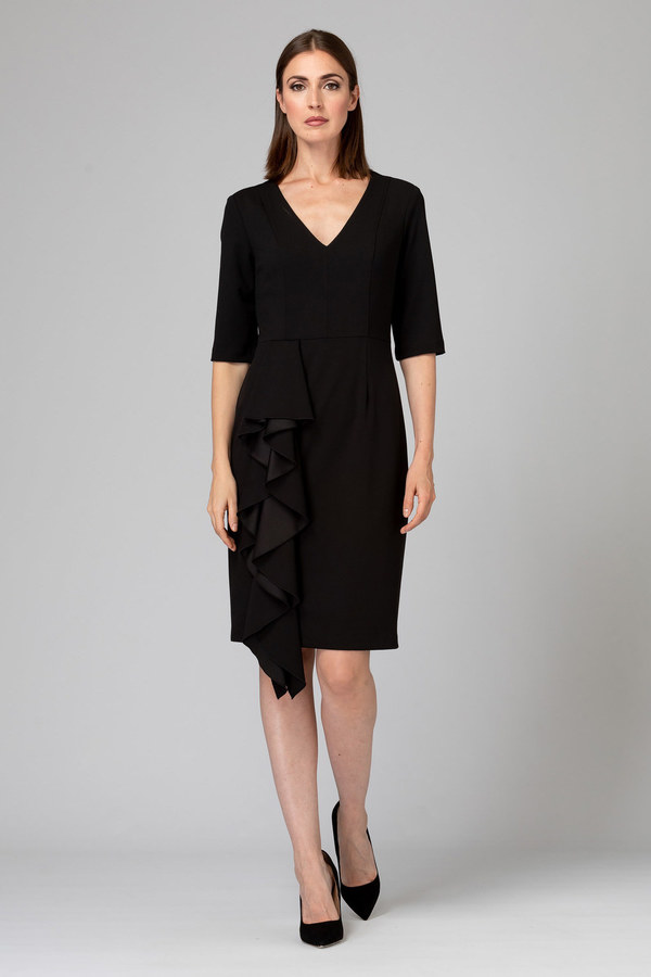 Joseph Ribkoff Black Dresses Style 193491