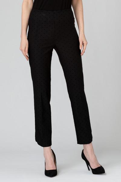 Joseph Ribkoff Black/Black Pants Style 193630