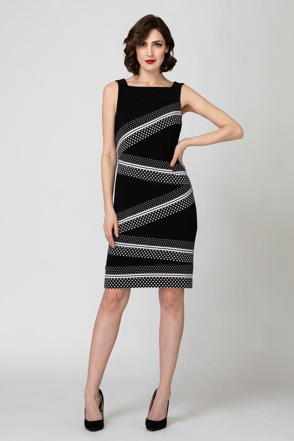 Joseph Ribkoff Black/White Dresses Style 193675