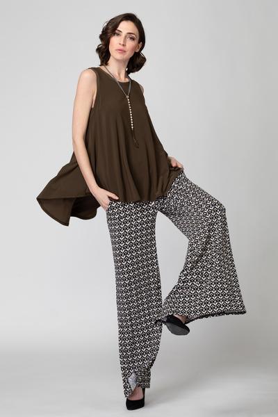 Joseph Ribkoff Black/Grey Pants Style 193683