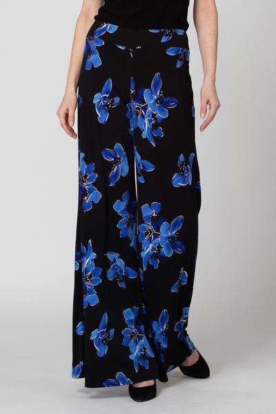 Joseph Ribkoff Black/Blue Pants Style 193690