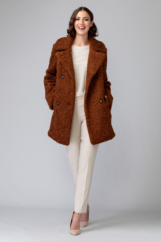 Joseph Ribkoff Vêtements d'extérieur Brun Style 193719