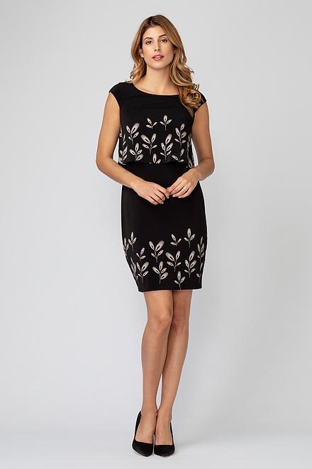Joseph Ribkoff Black/Beige Dresses Style 193751