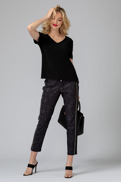 Joseph Ribkoff Black Pants Style 193755