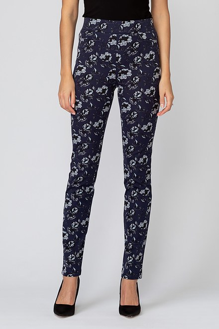 Joseph Ribkoff Navy/Grey/Black Pants Style 193778