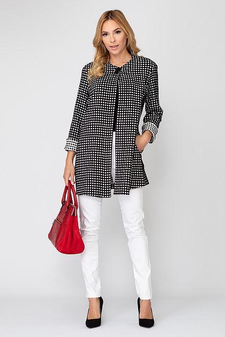 Joseph Ribkoff Black/Off-white Jackets Style 193823