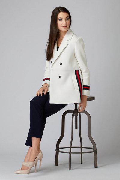 Joseph Ribkoff Vêtements d'extérieur Blanc Cassé Style 193930
