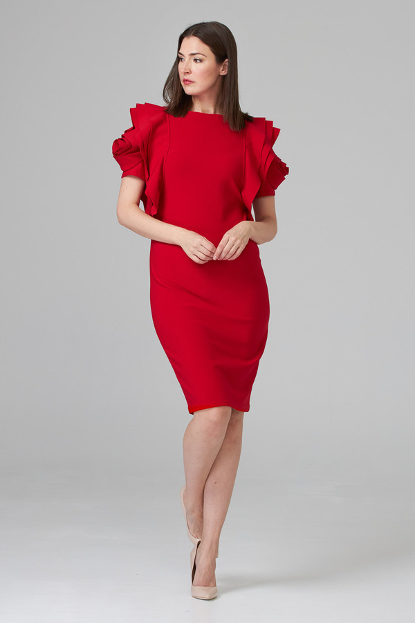 Joseph Ribkoff Robes et combinaisons Rouge A Levres 173 Style 194007