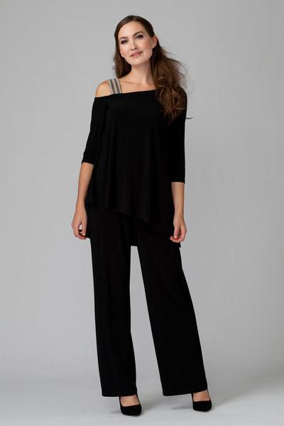 Joseph Ribkoff Black Jumpsuits Style 194025