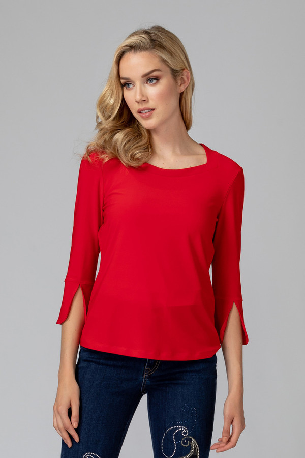 Joseph Ribkoff Tee-shirts et camisoles Rouge A Levres 173 Style 194103