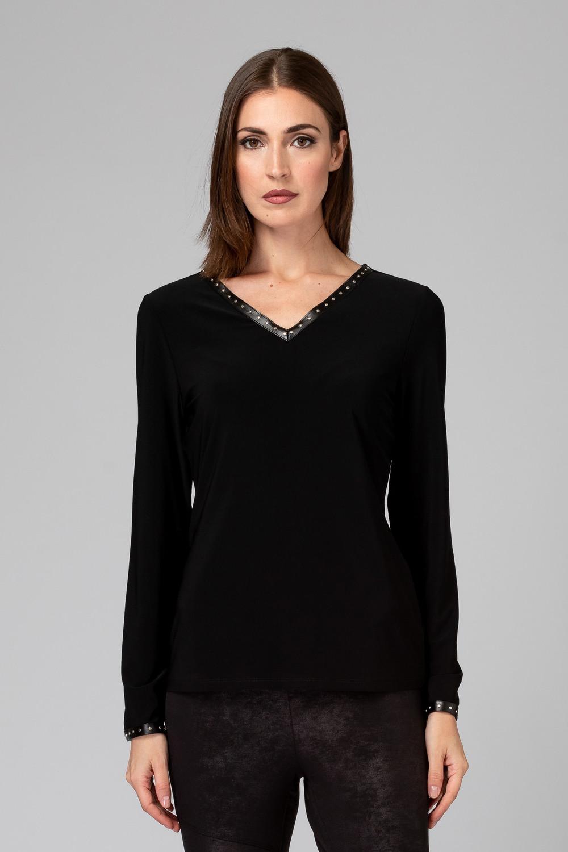 Joseph Ribkoff Black Tees & Camis Style 194106