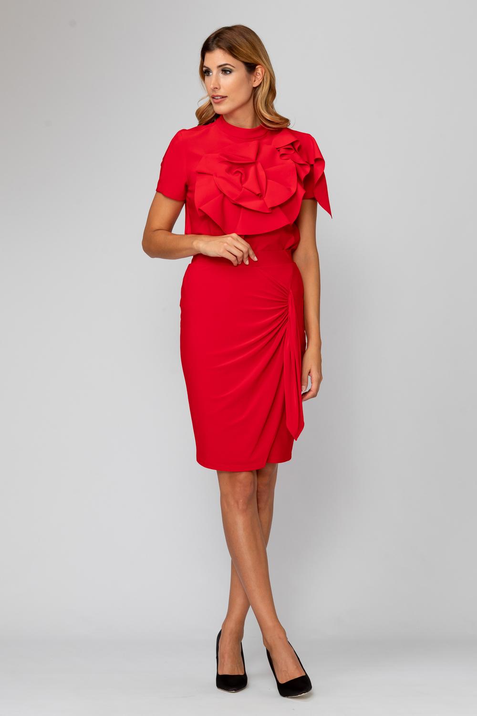 Joseph Ribkoff Lipstick Red 173 Tees & Camis Style 194112