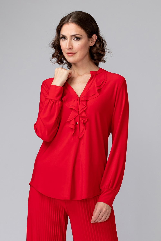 Joseph Ribkoff Chemises et blouses Rouge A Levres 173 Style 194118