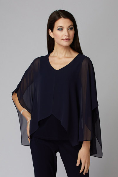 Joseph Ribkoff Chemises et blouses Bleu Minuit 40 Style 194231