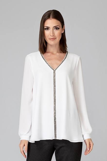 Joseph Ribkoff Off-white Shirts & Blouses Style 194232