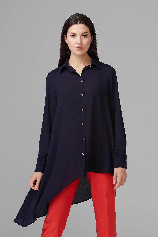 Joseph Ribkoff Chemises et blouses Bleu Minuit 40 Style 194233