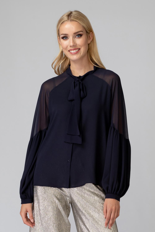 Joseph Ribkoff Midnight Blue 40 Shirts & Blouses Style 194235