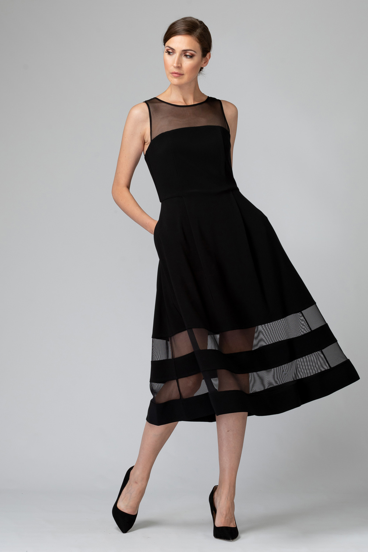 Joseph Ribkoff Robes Noir Style 194296