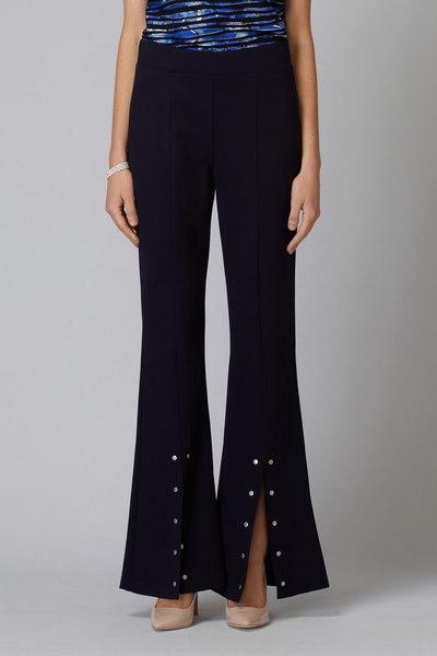 Joseph Ribkoff Pantalons Bleu Minuit 40 Style 194324