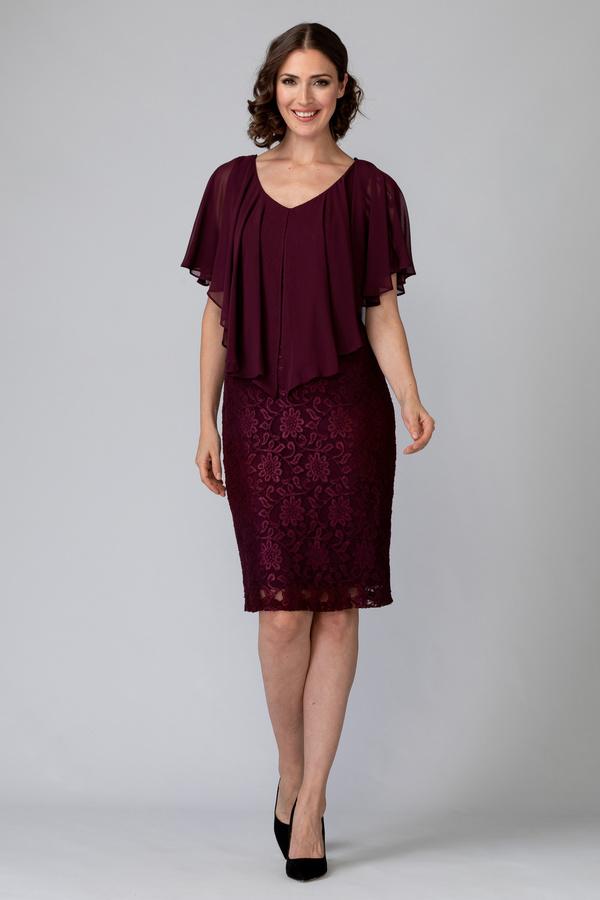 Joseph Ribkoff BLACKBERRY Dresses Style 194516