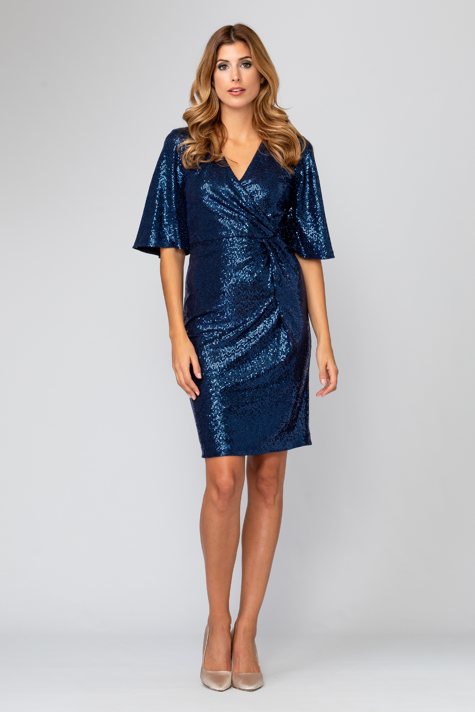 Joseph Ribkoff MIDNIGHT BLUE/ROYAL/BLUE Dresses Style 194541