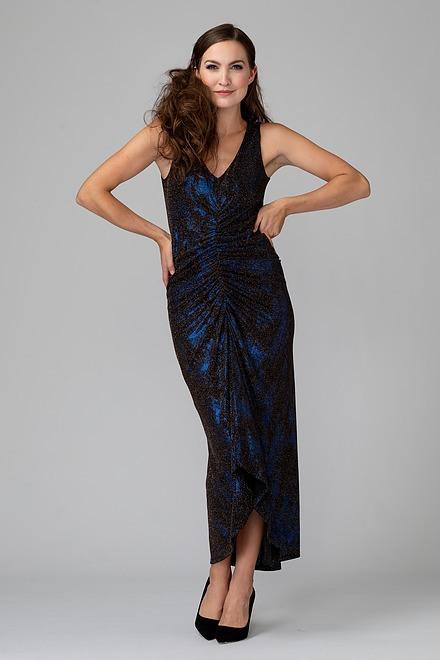 Joseph Ribkoff Robes Noir/Bleu Style 194553