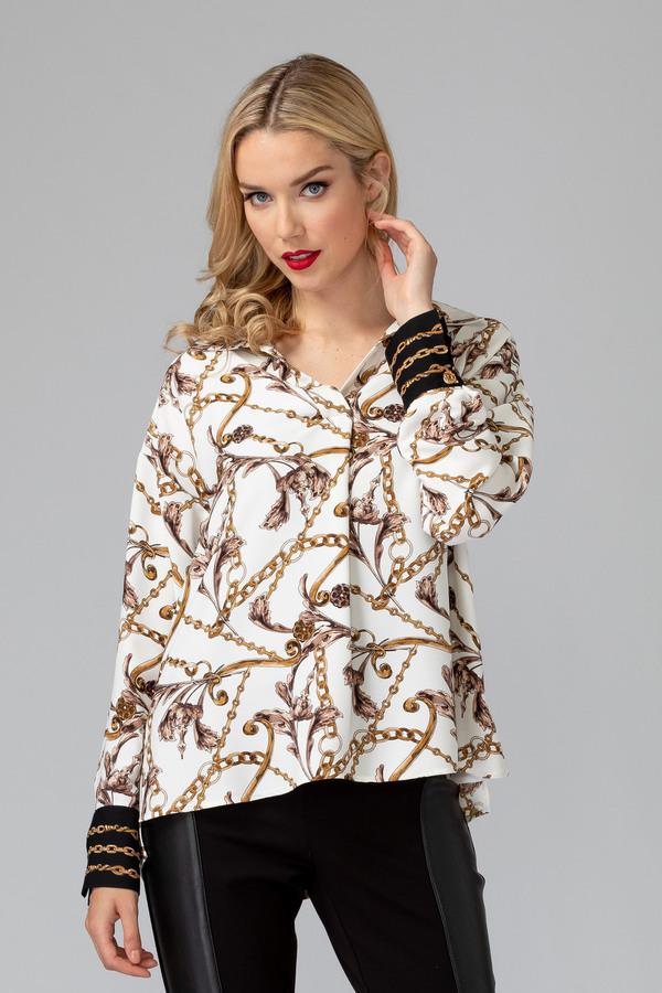 Joseph Ribkoff Chemises et blouses Vanille/Multi Style 194656