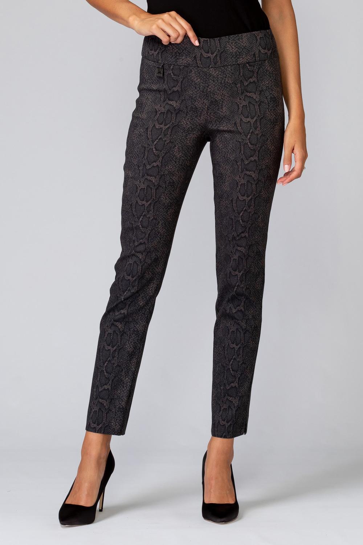 Joseph Ribkoff Pantalons Noir/Taupe Style 194700
