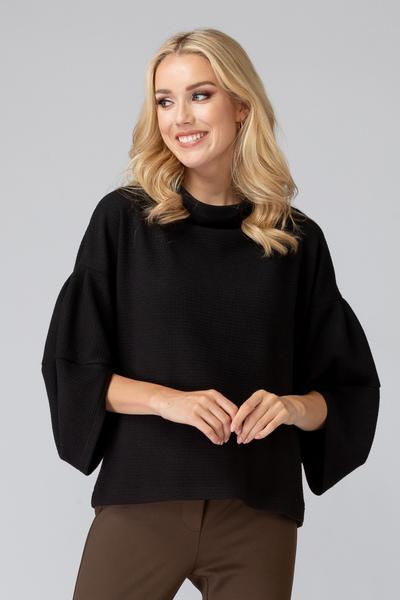 Joseph Ribkoff Black Sweaters Style 194778