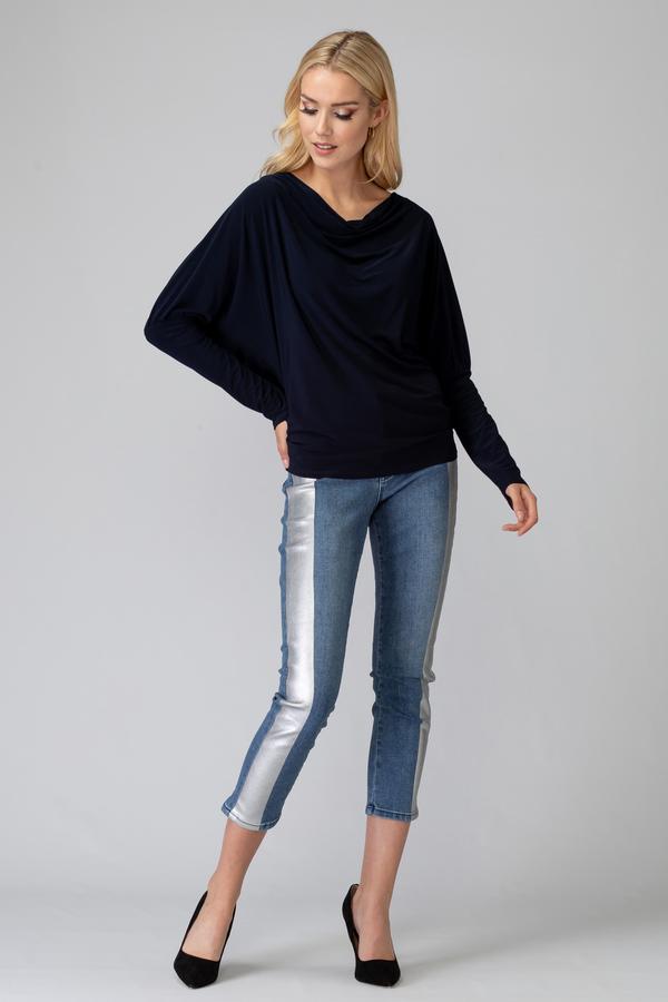 Joseph Ribkoff Jeans Bleu Style 194944