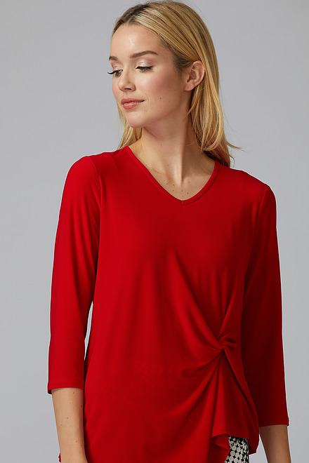 Joseph Ribkoff Lipstick Red 173 Tees & Camis Style 193138