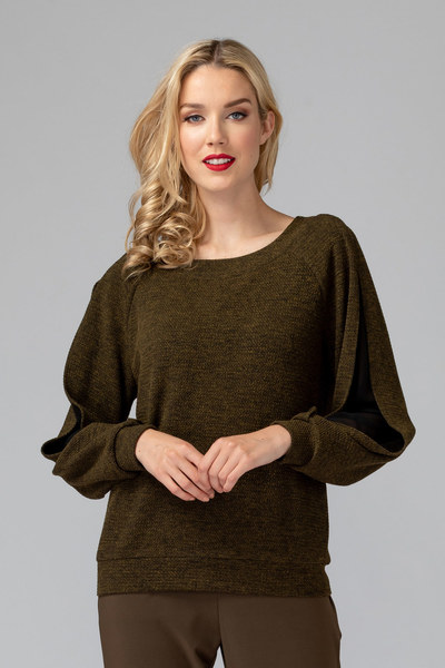 Joseph Ribkoff Chemises et blouses OLIVE/NOIR Style 193477