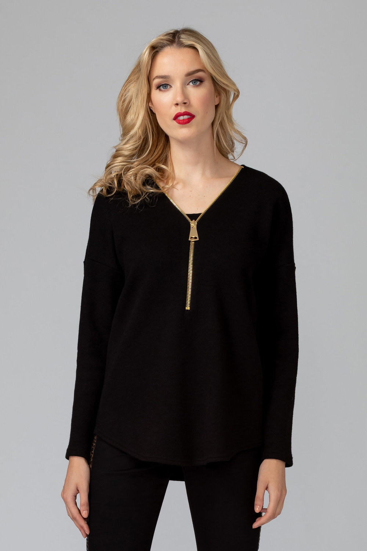 Joseph Ribkoff Black Sweaters Style 193472