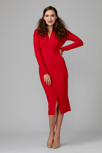 Joseph Ribkoff Lipstick Red 173 Dresses Style 194019