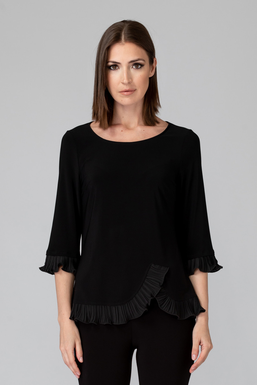 Joseph Ribkoff Black Shirts & Blouses Style 193256