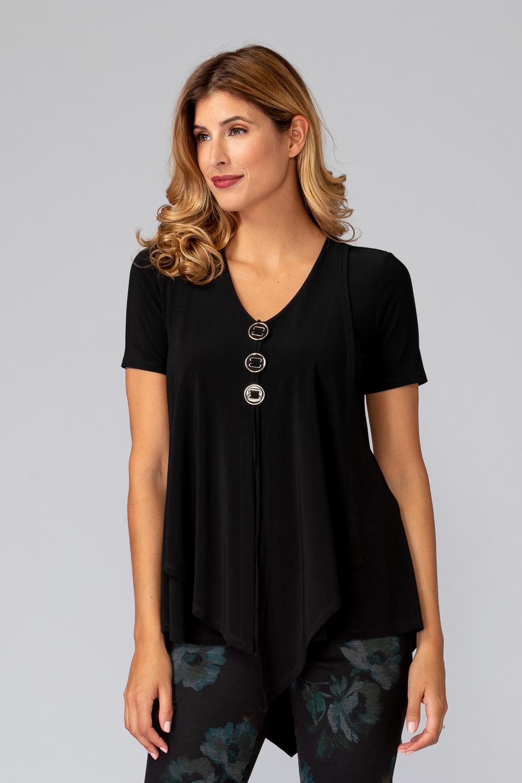 Joseph Ribkoff Tee-shirts et camisoles Noir Style 193131
