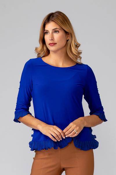 Joseph Ribkoff Royal Sapphire 163 Shirts & Blouses Style 193256