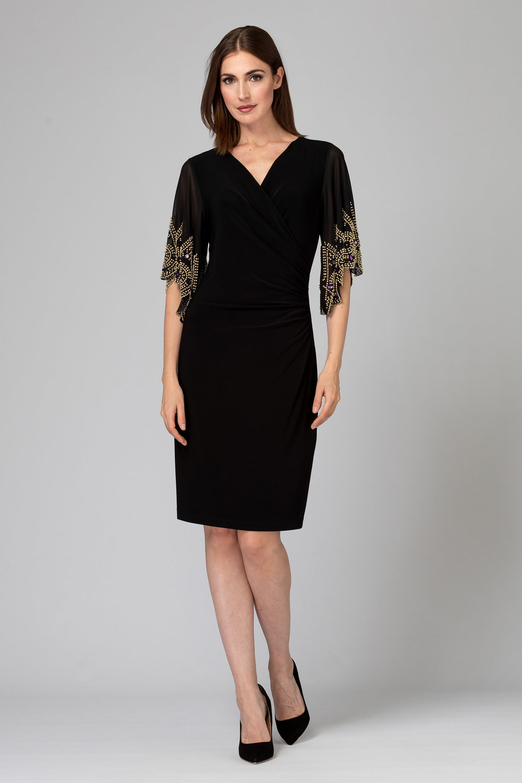 Joseph Ribkoff Black Dresses Style 193200