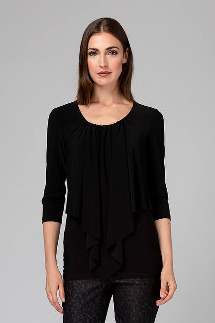 Joseph Ribkoff Black Tees & Camis Style 201428