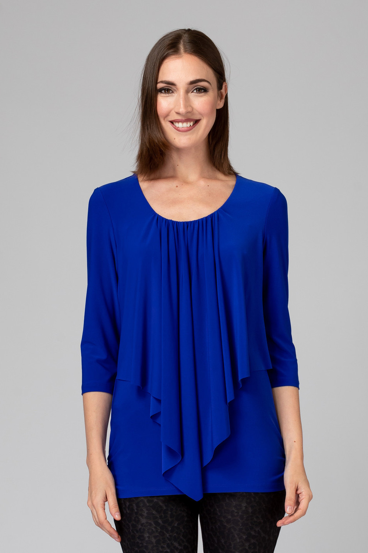 Joseph Ribkoff Tee-shirts et camisoles Saphir Royal 163 Style 201428