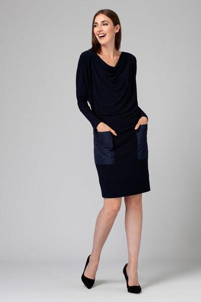 Joseph Ribkoff Midnight Blue Dresses Style 194012