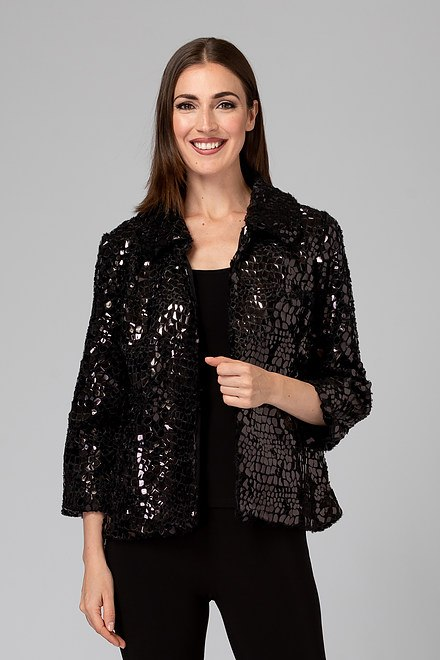 Joseph Ribkoff Black/Black Jackets Style 194504