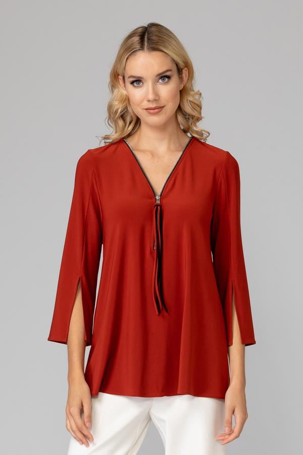 Joseph Ribkoff SUNSET ORANGE Shirts & Blouses Style 191143