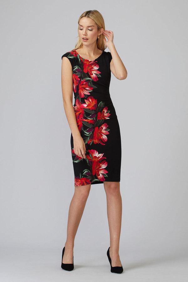 Joseph Ribkoff Black/Multi Dresses Style 201001