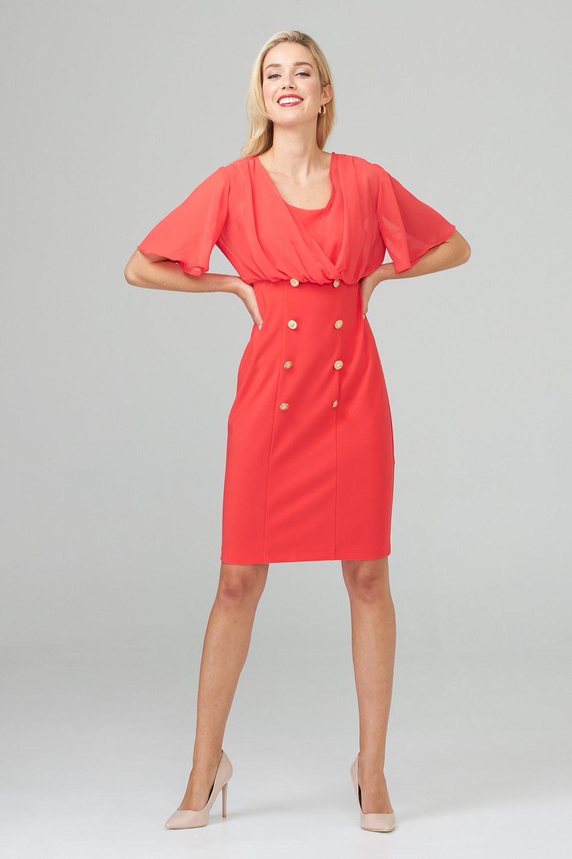Joseph Ribkoff PAPAYA Dresses Style 201007