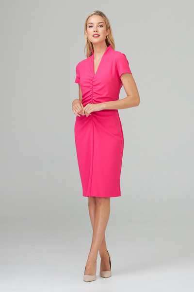 Joseph Ribkoff HYPER PINK Dresses Style 201014