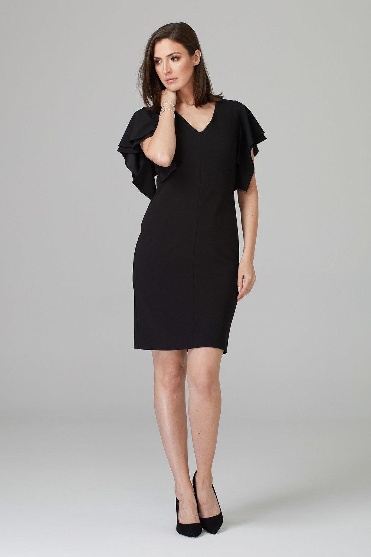 Joseph Ribkoff Black Dresses Style 201015