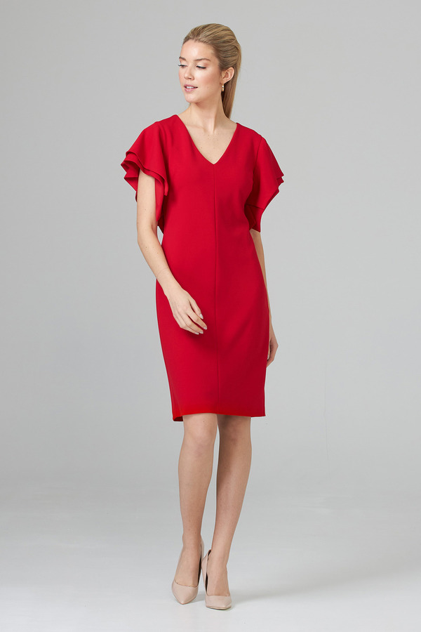Joseph Ribkoff Robes Rouge A Levres 173 Style 201015